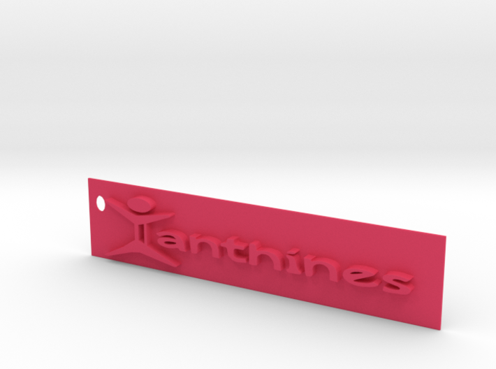 Xanthines Logo Key chain 3d printed
