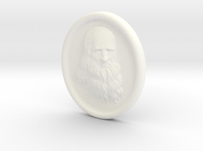 Leonardo da Vinci. 15cm 3d printed