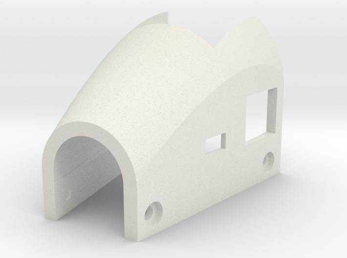 mini-MUTT Motor Mount Cover 3d printed