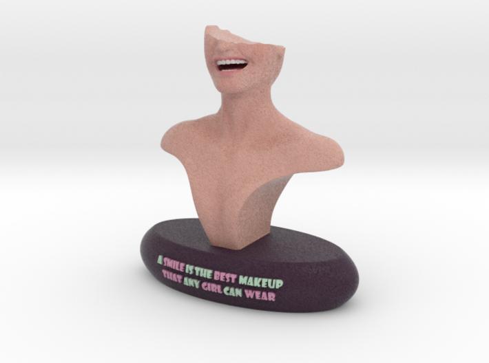 Smile  3d printed