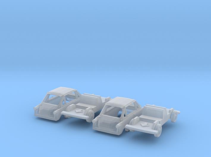 SET 2x Zündapp Janus (N 1:160) 3d printed