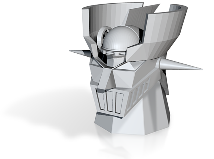 Mazinger head (repaired) 3d printed