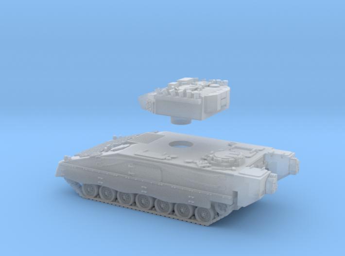 VCI-PIZARRO-Escala Z-2 piezas Barcaza+torre-proto- 3d printed