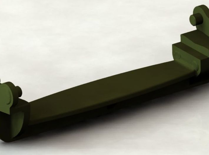 D48082 GROUSER ASSEMBLY 1:35 SCALE 3d printed Rendering of CAD model