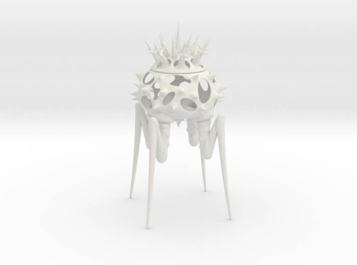 Biomorphic Object #15- Lantern 3d printed