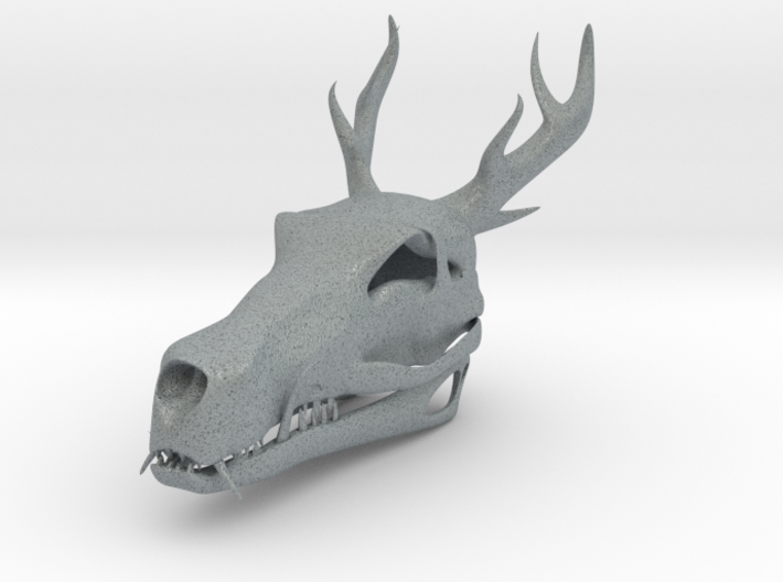 Asian Dragon Skull 3d printed