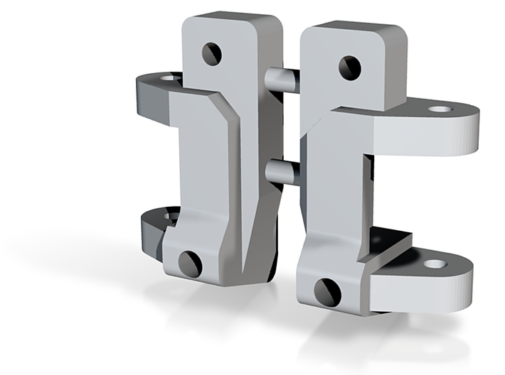 Caster Block, 0 deg, Pair, RC10 3d printed