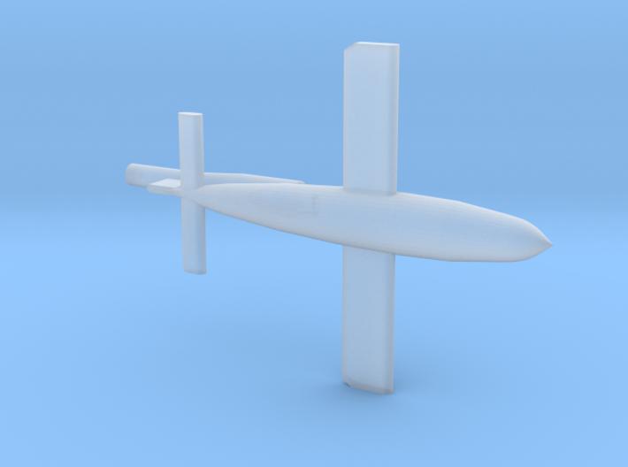 V1 - Reichenberg Buzzbomb 1/285 6mm 3d printed
