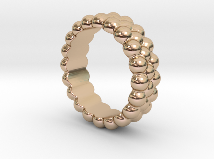 RING BUBBLES 25 - ITALIAN SIZE 25 3d printed