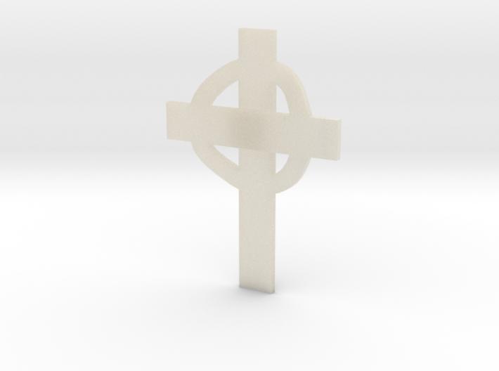 CrossCelticLevels35-25-5-1 3d printed