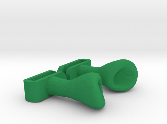 Shrek ears for Headphones 3d printed