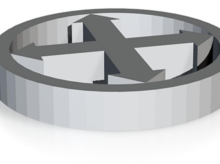 W40K / Space Marine / Ultramarine ordre Token: Ass 3d printed