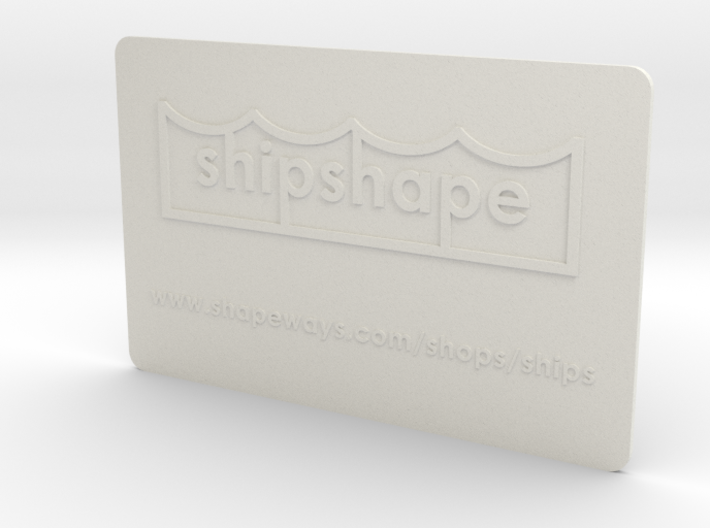 Welcome to shipshape 3d printed