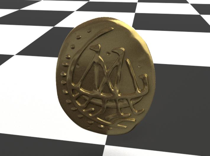 Game of Thrones Meeren Coin 3d printed