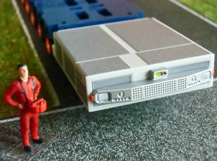 1:87 THP bumpers and controls - THP Stoßstangen 3d printed