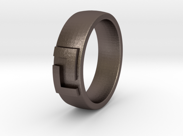 League Ring Size 8 3d printed