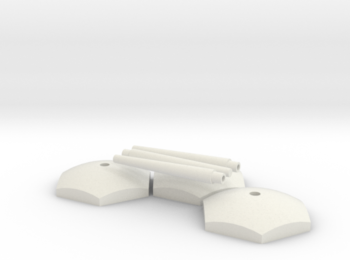 Starship Stand Ver.03 3d printed