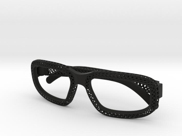 'Hatch' glasses for Eyewear Kit 3d printed