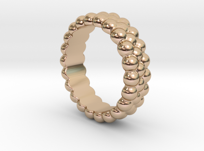 RING BUBBLES 31 - ITALIAN SIZE 31 3d printed