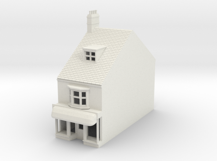 HHS-9 N Scale Honiton High street building 1:148 3d printed