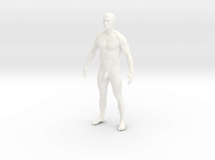 Man body 3d printed
