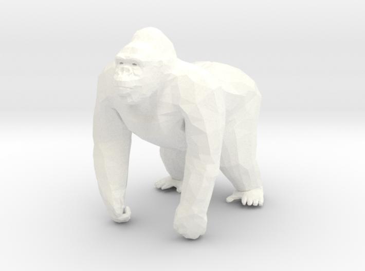 Gorilla in 5cm Passed 3d printed