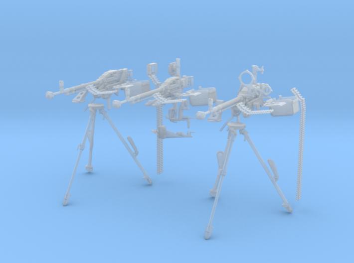 1-18 DSHK Dushka Set Of 3 3d printed
