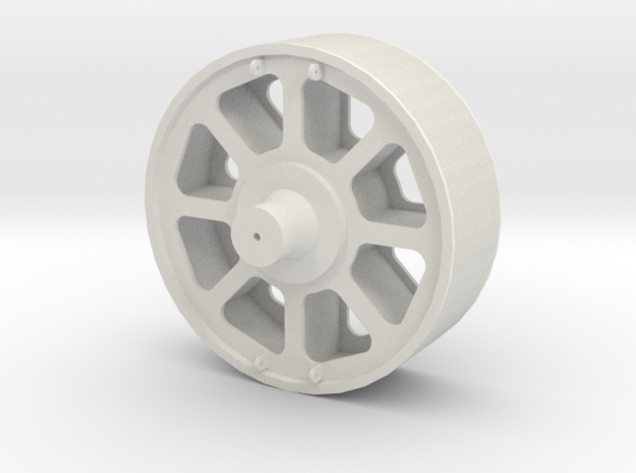 Pulley Load for QTTX depressed flat car 3d printed