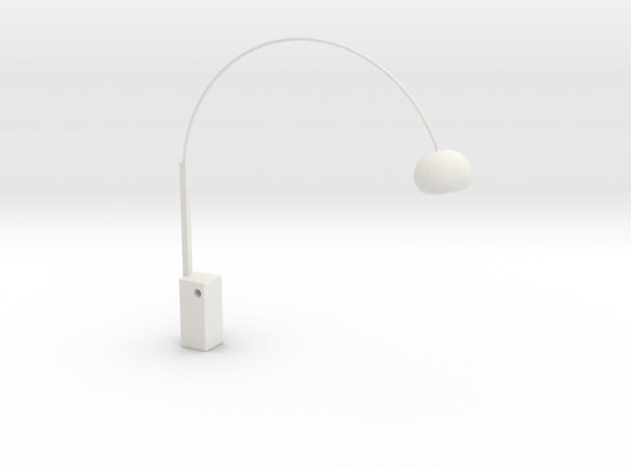 1:12 Arco Floor Lamp 3d printed