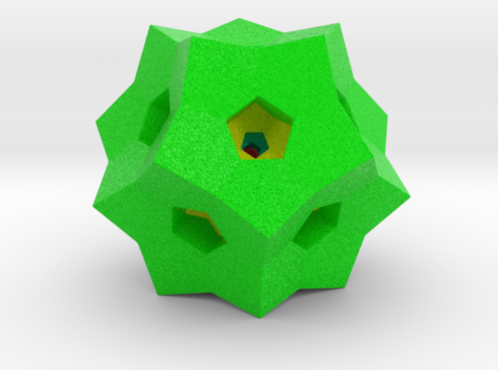 "0077 ""Dodecaplex"" Polytope 120-Cell #002 (5 cm) 3d printed"