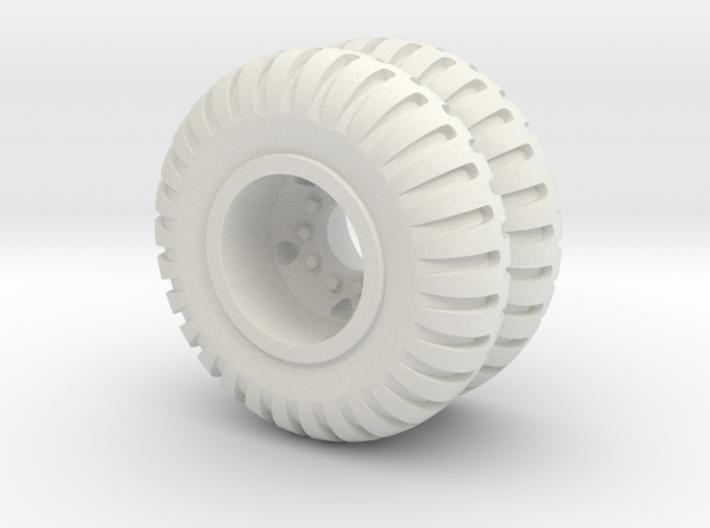 Maxi Carrier Wheel 6X 3d printed