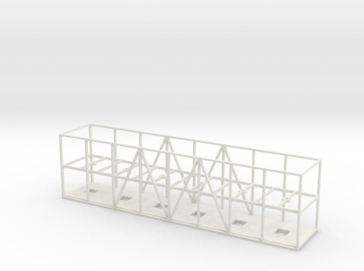 Gondelrolle Flipper (Container-aufsatz) 3d printed