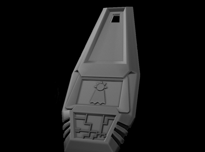 Crest of Hope - Digimon 3d printed Greyscale Render