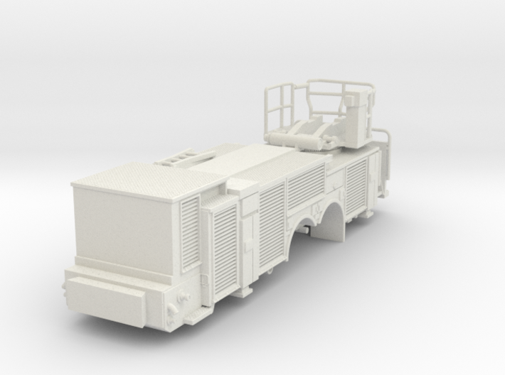 Vehicle-016-rear-section-hollow 1-64 3d printed