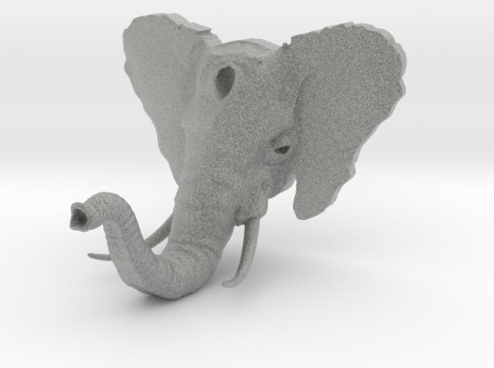 Elephant Hook v2 (w/ Tusks) 3d printed
