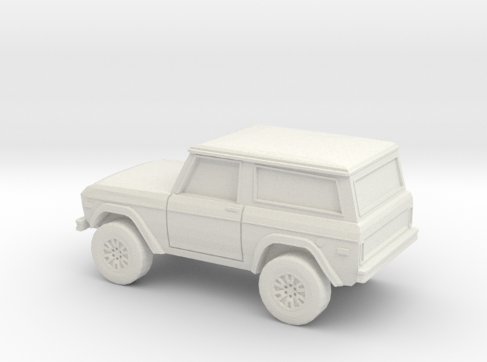 1/87 1966-77 Ford Bronco 3d printed