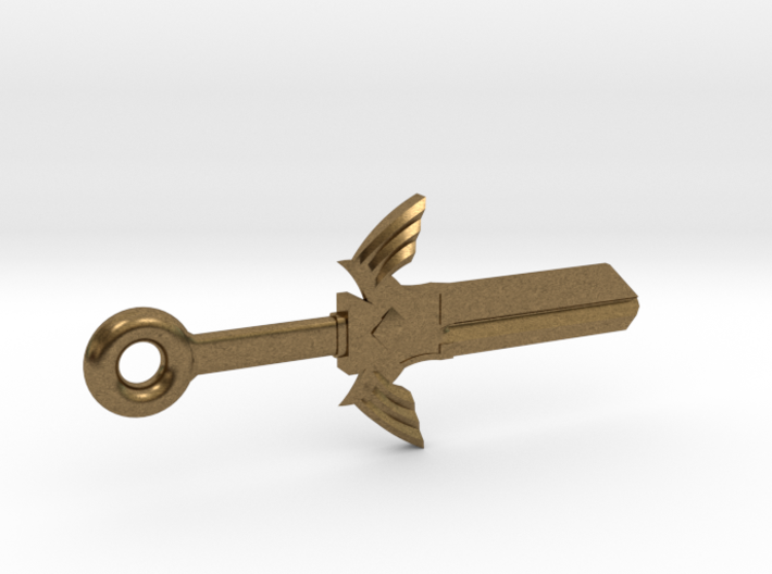 Zelda Master Sword House Key Blank - SC1/68 3d printed