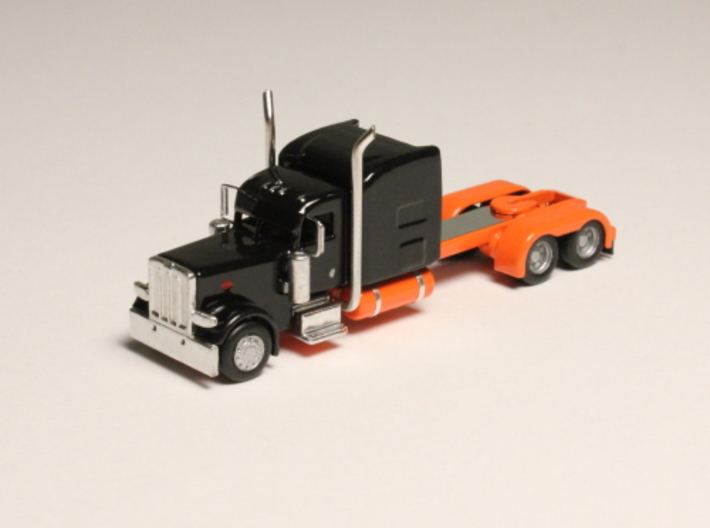 1:160 N Scale Peterbilt Custom 389 Tractor 3d printed