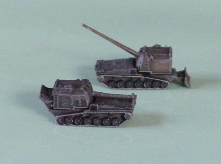 M53 155mm / M55 203mm Howitzer 1/285 6mm 3d printed Add a caption...