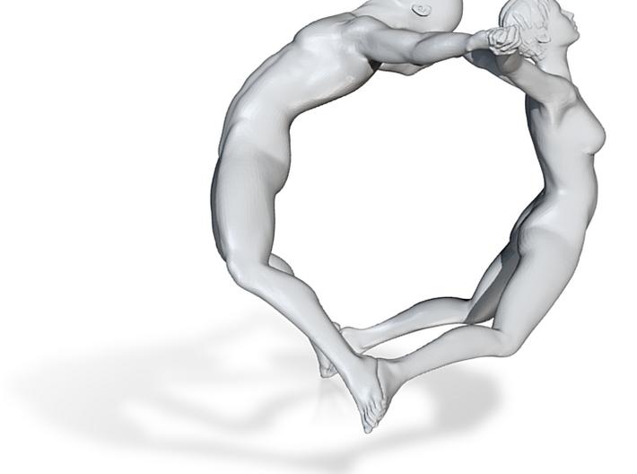 Joy Bracelet with narrow figures 3d printed