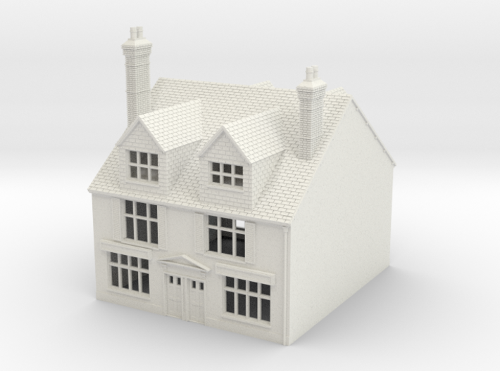 TFS-18 N Scale Topsham Fore Street building 1:148 3d printed