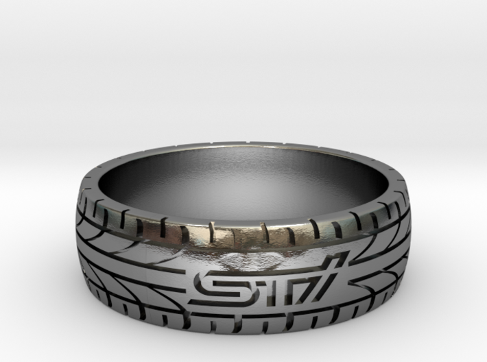 Subaru STI ring - 23 mm (US size 14) 3d printed