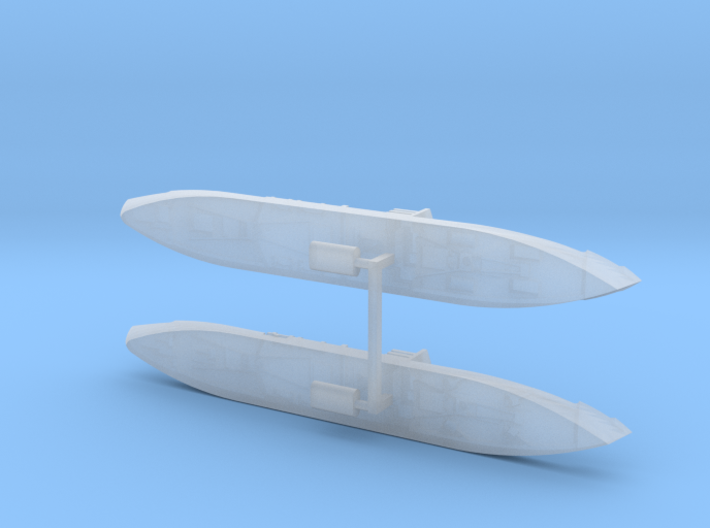 German Auxiliary Cruiser HSK Orion 1/1800 3d printed