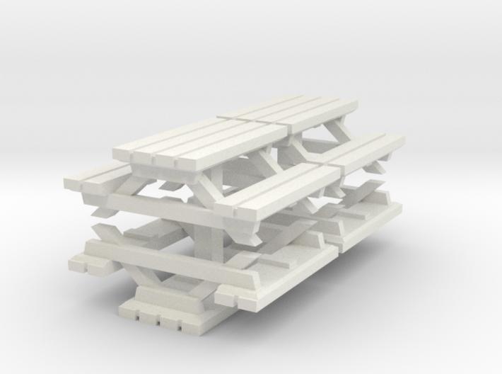 SET 4x Sitzgruppe (N 1:160) 3d printed