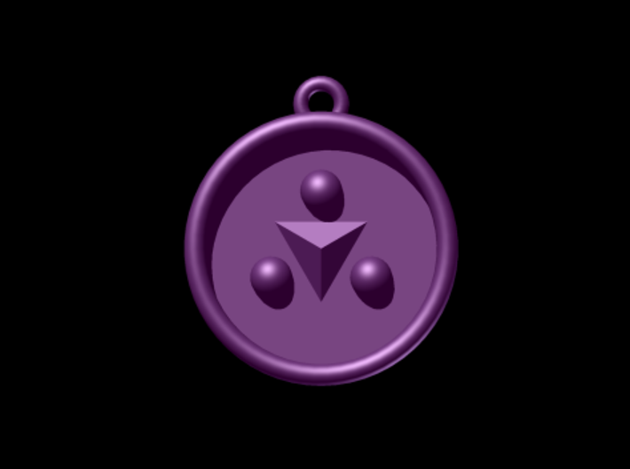 Zelda Ocarina Of Time Shadow Medallion 3d printed Autodesk Render