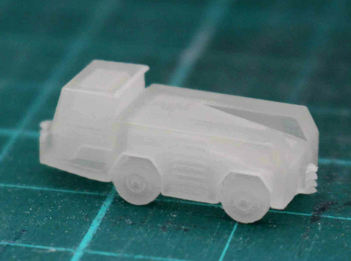 GSE Airport Tow / Push Back vehicle 1:200 (2pc) 3d printed Unpainted model