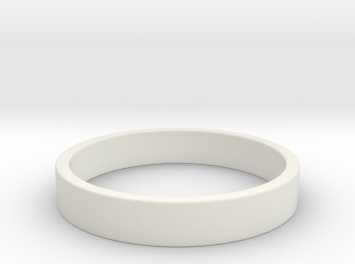 Simple and Elegant Unisex Ring | Size 5 3d printed