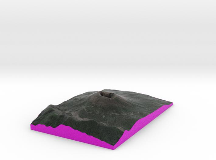 MOUNT VESUVIUS 25 x 38 cm  3d printed