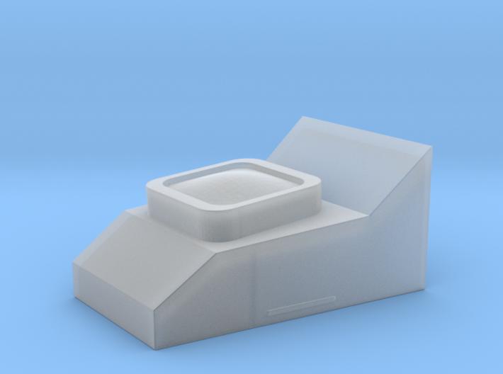 Perspex Block with lens for Rangefinder ESB 3d printed