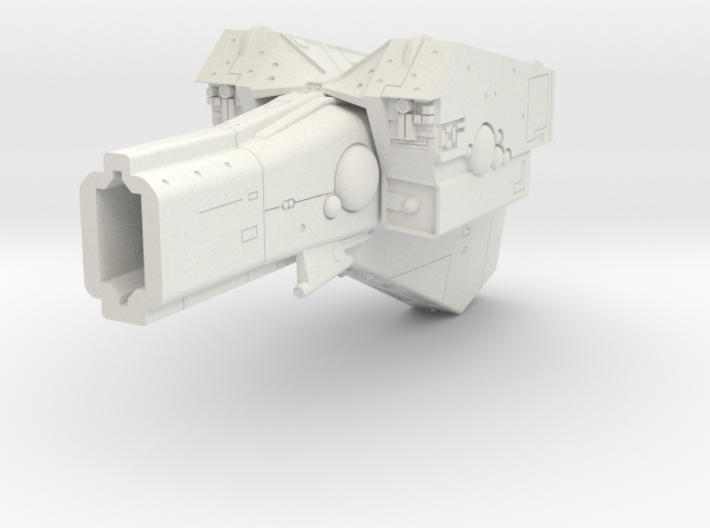LoGH Imperial Battleship 1:3000 (Part 2/2) 3d printed